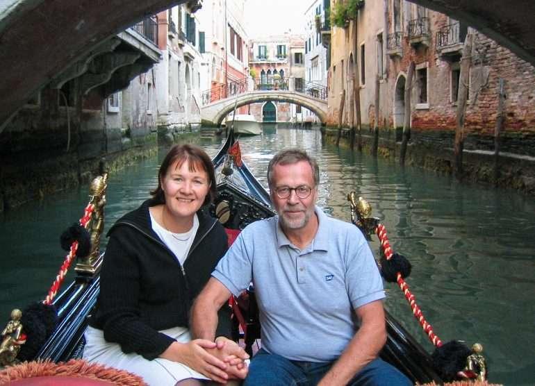 Venetsia gondoli Pallon henki