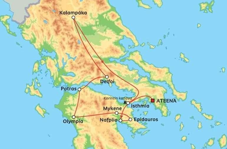 Albatrosin Kreikka - Albatros Kreikka peruutettu
