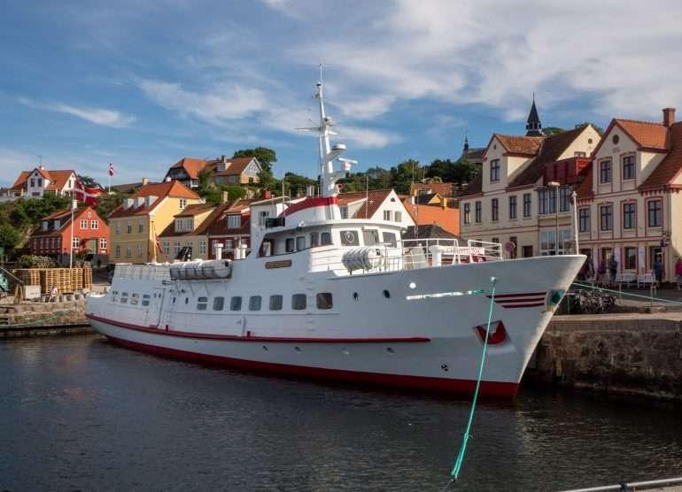 Gudhjem Bornholm Bornholm saaren ympäri