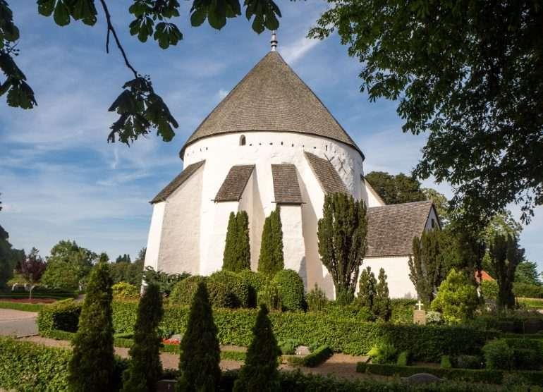 Österlars Chuch Bornholm kirkot ja majakat