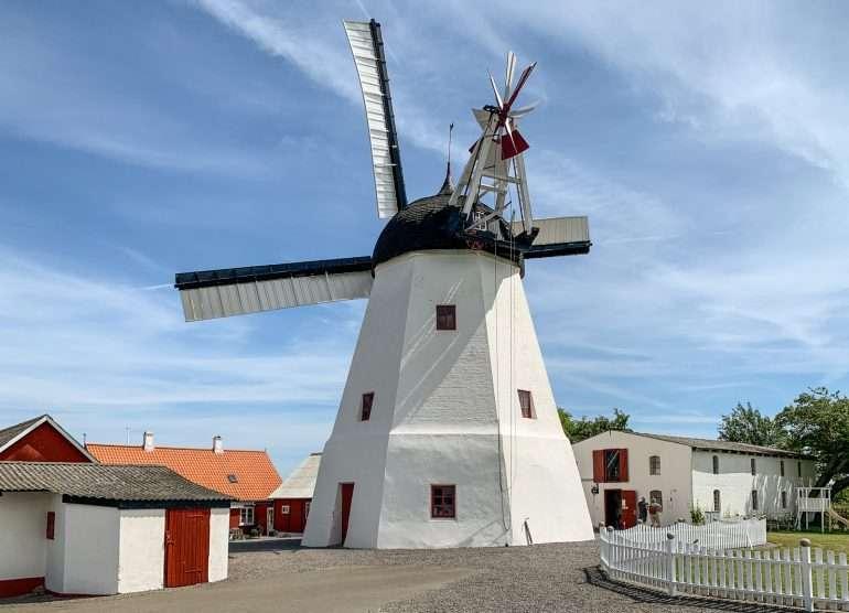 Myreagre Molle Aakirkeby Bornholm saaren ympäri