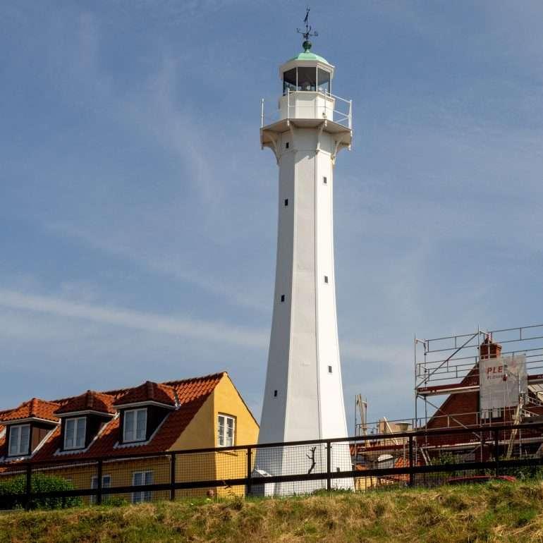 Ronne Lighthouse Bornholm kirkot ja majakat