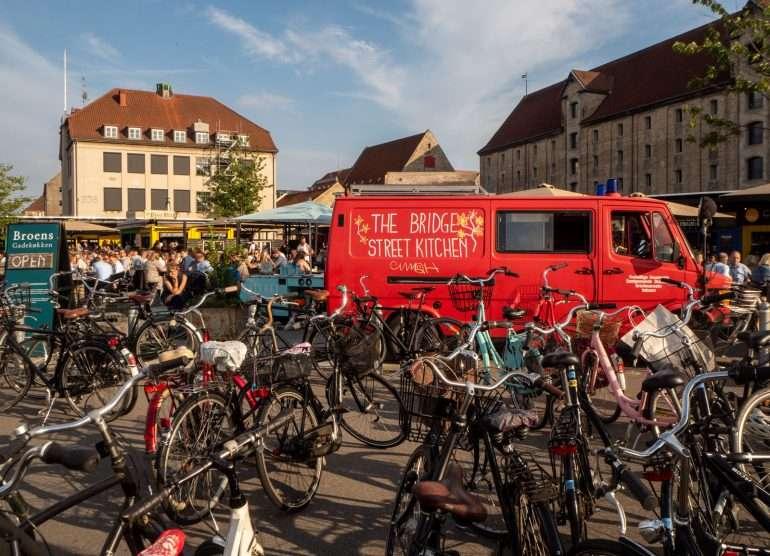 Christianshavn Kööpenhaminaa pyöräillen