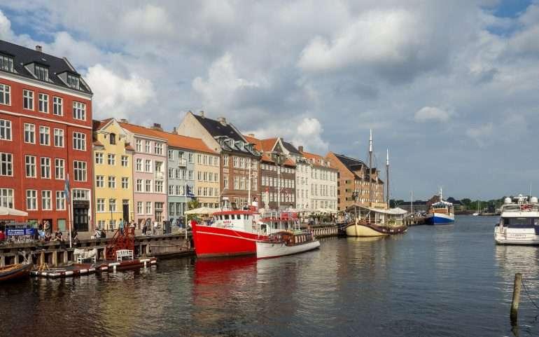 Nyhavn Kööpenhamina