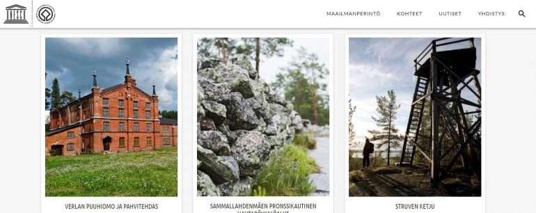 Suomen maailmanperintökohteet