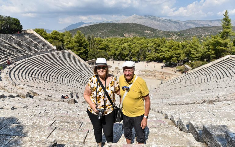 EpidaurosPeloponnesos Korintti Epidauros Mykene
