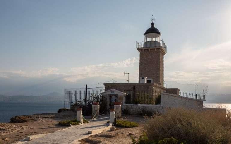 Melagavi majakka 9 päivää Kreikassa
