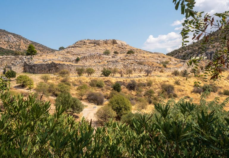 Mykene Peloponnesos Korintti Epidauros Mykene
