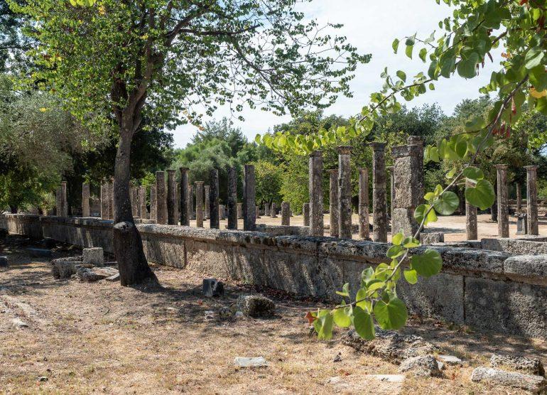 Olympia Peloponnesos Kreikka