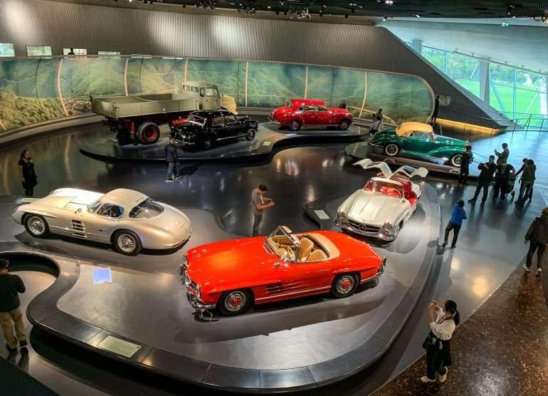 Mercedes Benz museo Stuttgart
