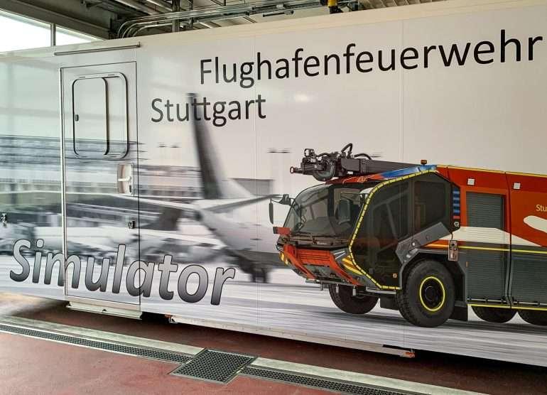 Paloasema lentokenttä Stuttgart