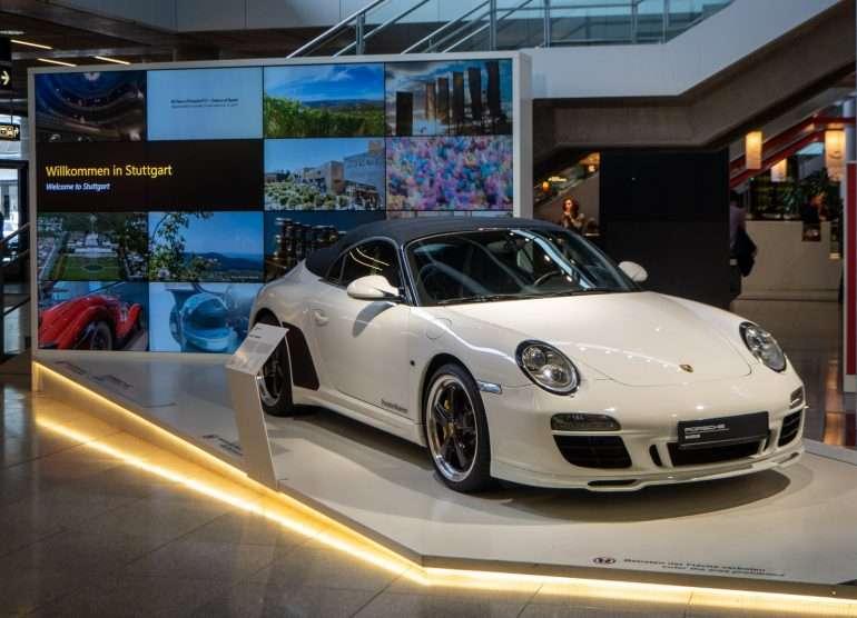 Porsche toivottaa tervetulleeksi kotikaupunkiinsa