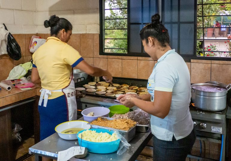 El Salvador pupusa