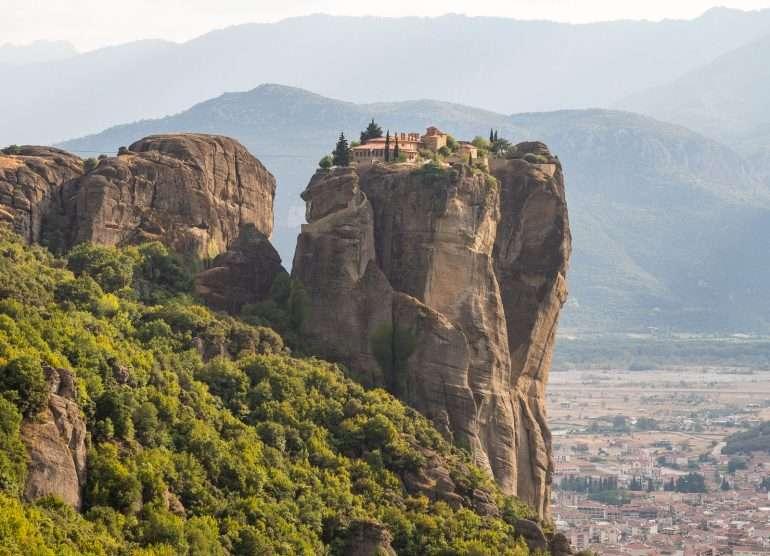 Meteoran luostarit Holy Trinity Meteora