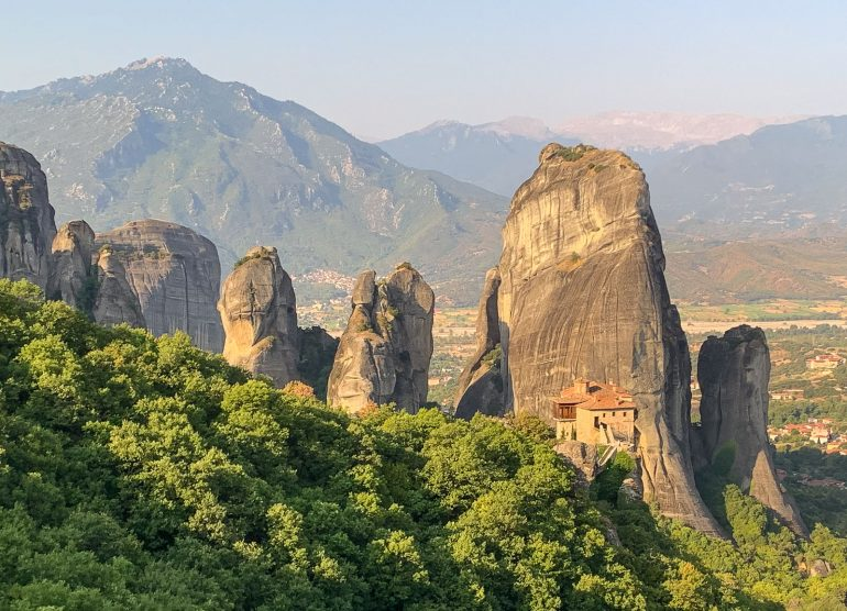 Meteoran luostarit Roussanou