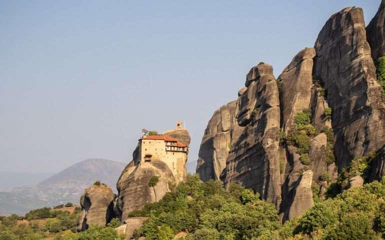 Meteoran luostarit St Nicholas