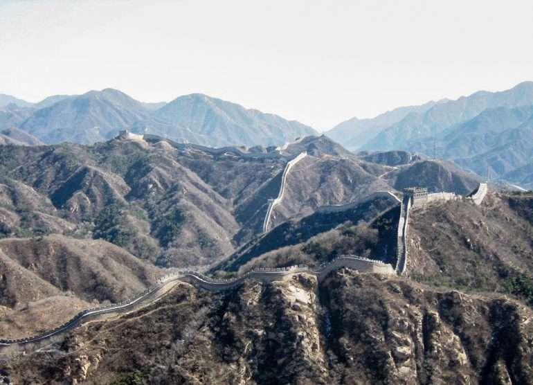 Kiinan muuri 7 New Wonders