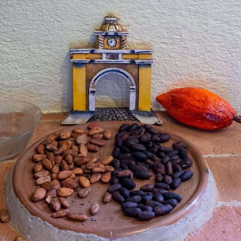 Suklaarekvisiittaa Antigua