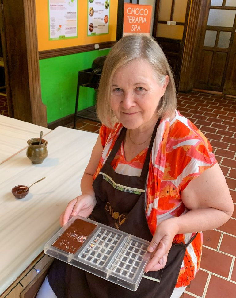 Suklaakurssilla Antiguassa