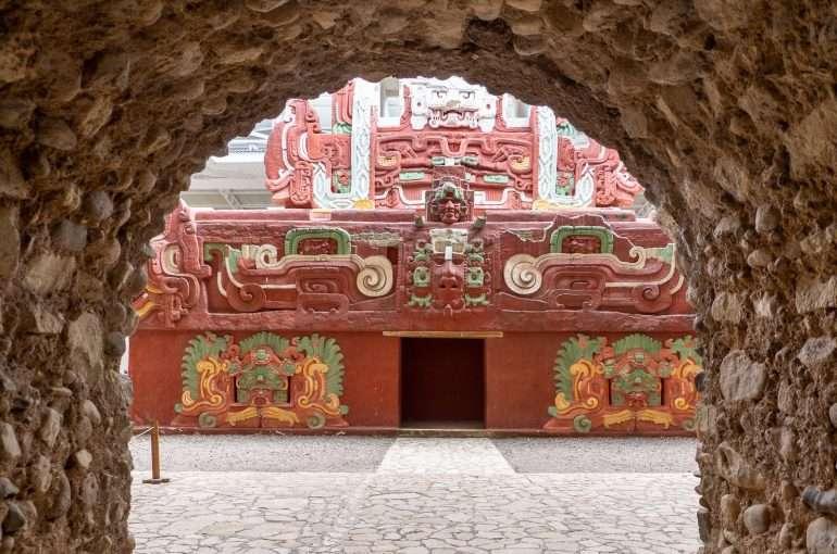 Rosalila-temppeli Honduras Copan