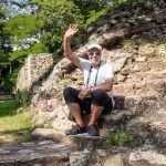 Copanin mayaraunioilla Hondurasissa