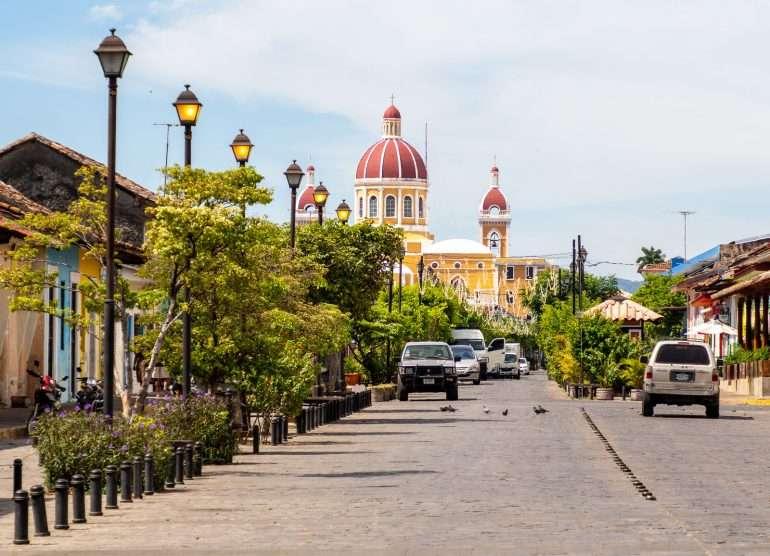 Granada Nicaragua katedraali