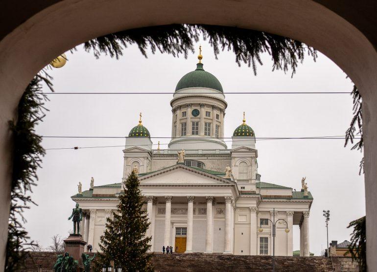 Helsinki joulupäivänä 2019