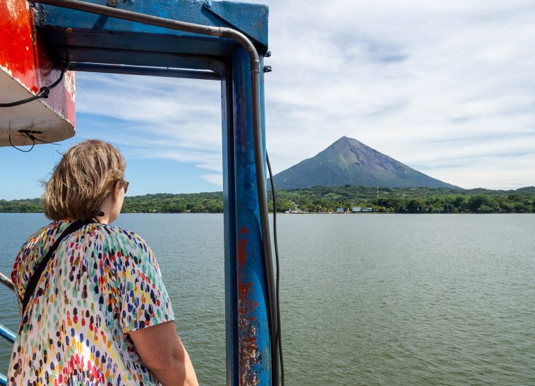 Laivalla Ometepen saarelle