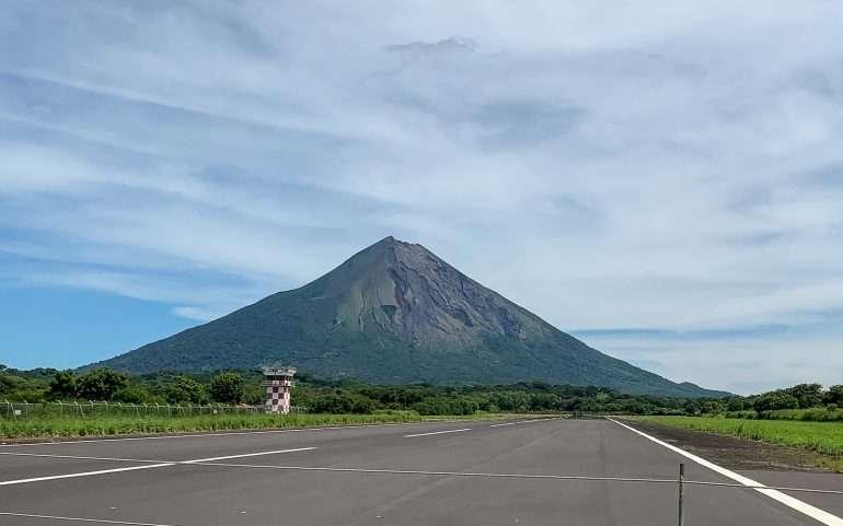 Ometepe Nicaragua lentokenttä
