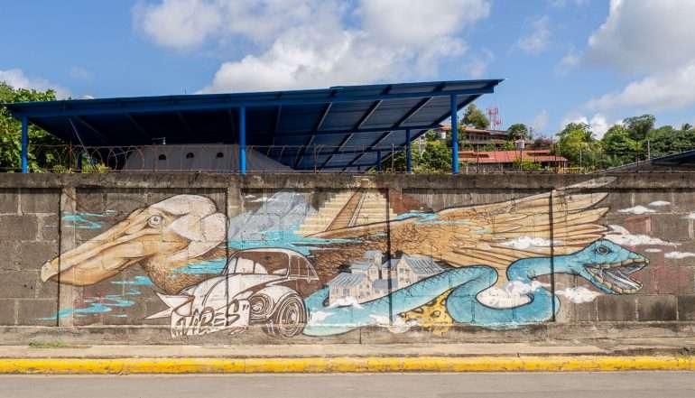 Seinämaalaus Nicaragua