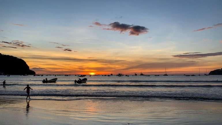 San Juan auringonlasku