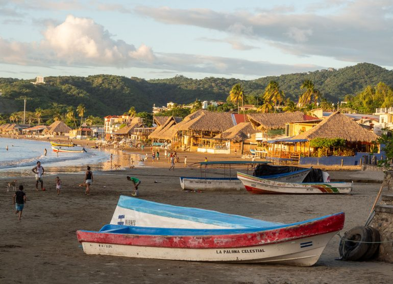 San Juan del Sur ranta