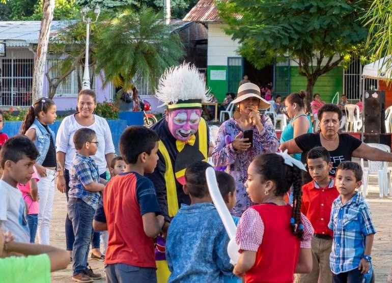 Lastenjuhlat San Juan del Sur