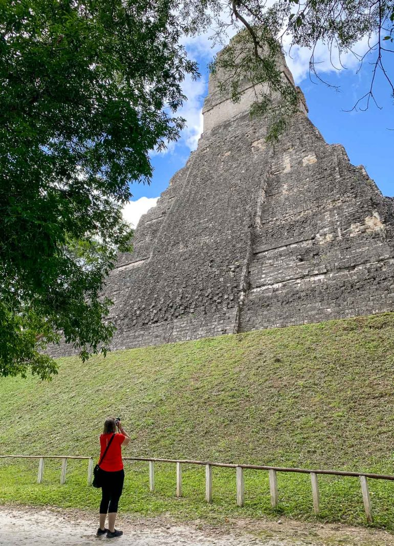 Temple I Tikalin mayaraunioilla