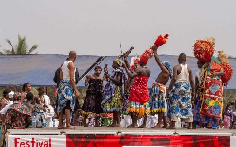 Beninin voodoofestivaaleilla