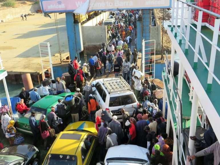 Lauttamatka Senegaliin