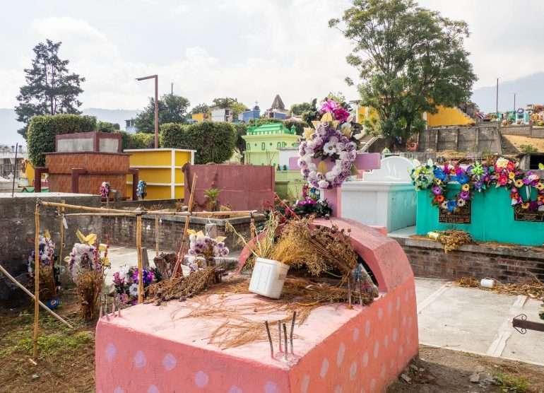 Guatemala hautausmaa