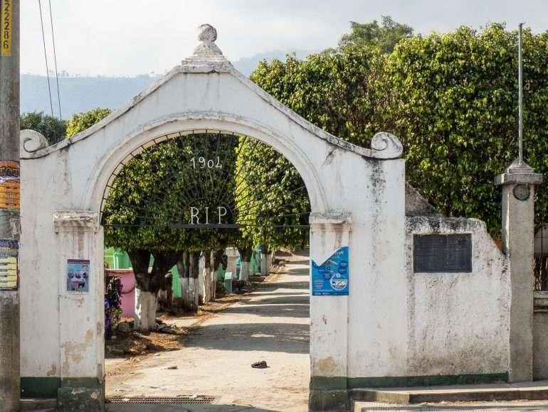 Guatemala hautausmaa Unescon maailmaperintökohteet Antigua