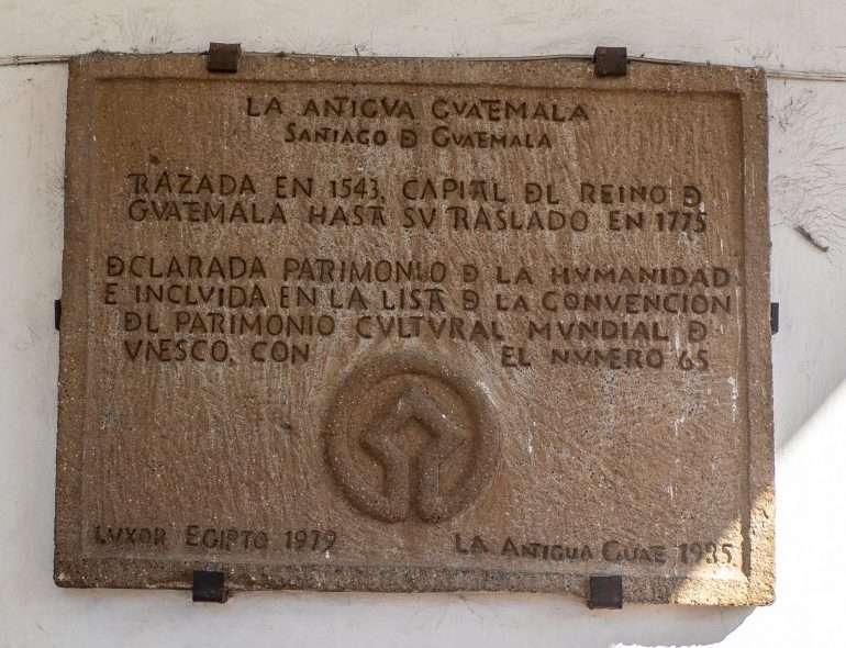 Keskusaukio Antigua