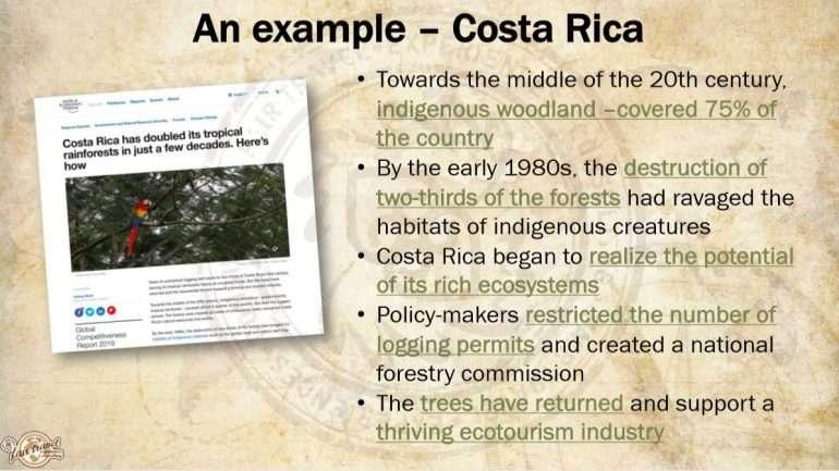 Costa Rica Lentäisinkö sittenkin