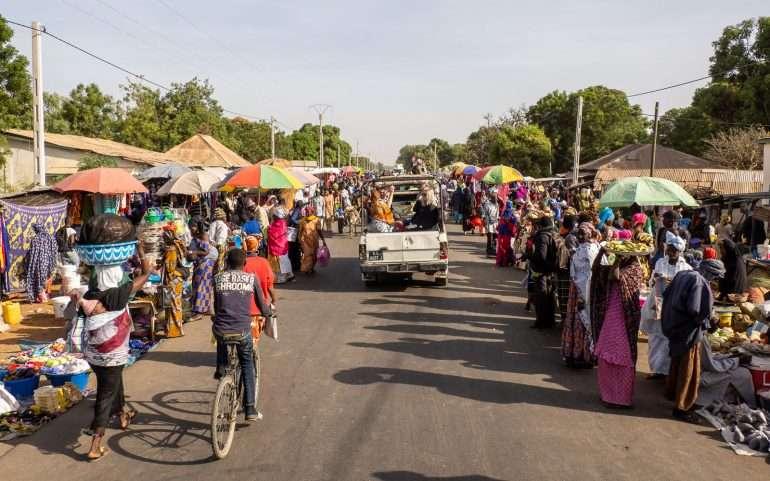 Markkinat Gambia