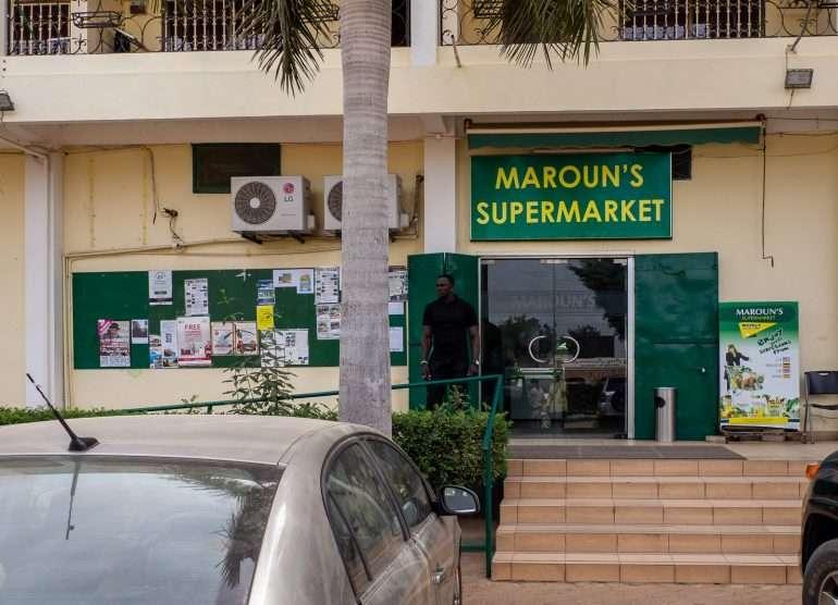 Gambia supermarket