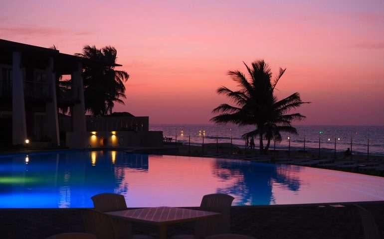 Auringonlasku Gambia