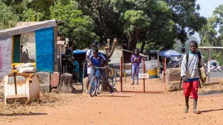Guinea-Bissau Senegal raja