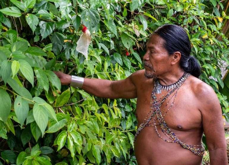Embera-heimo Panama