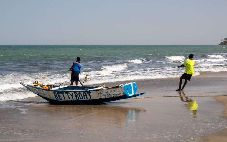 Kalastusta Gambiassa