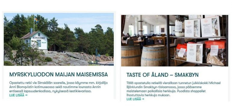 Ahvenanmaa retket - Matkasuunnitelmapäivityksiä 02/2020