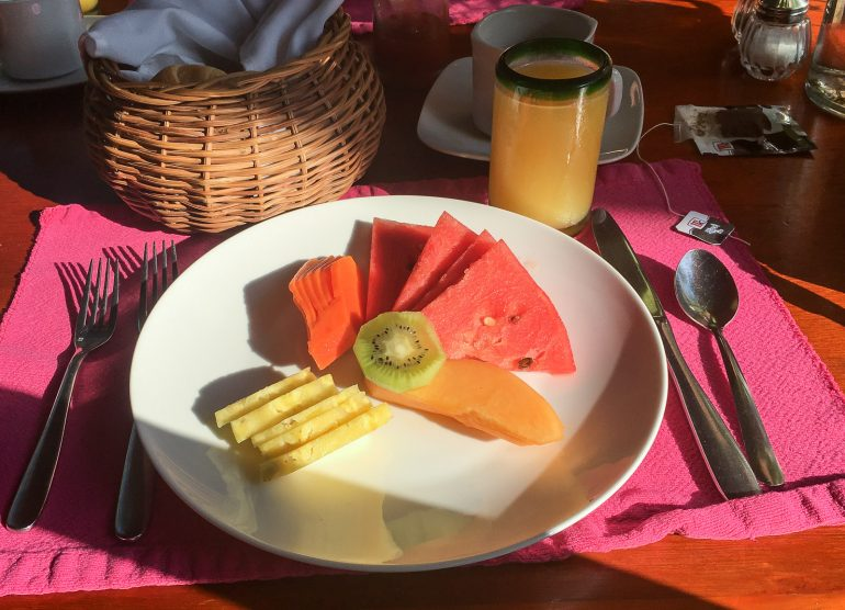 Mayaland aamiainen