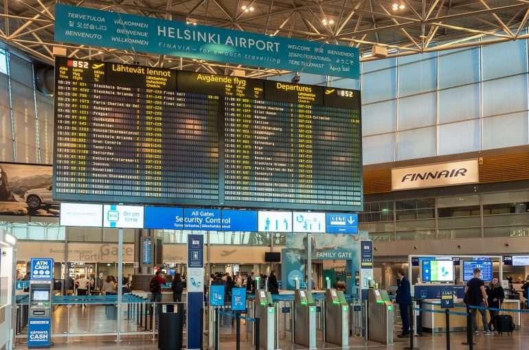 Helsinki Vantaa lentokenttä