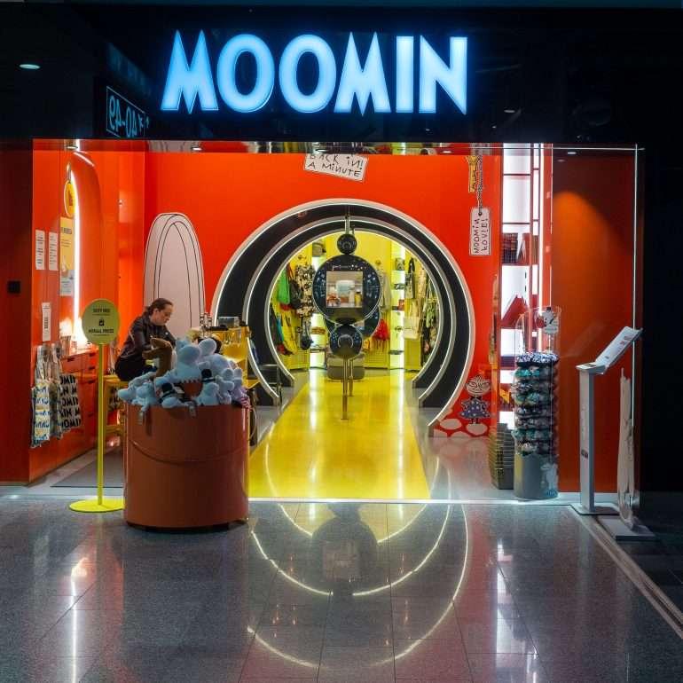 Moomin Helsinki Airport